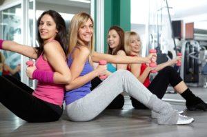 gym with friend