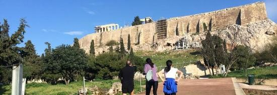 running in athens