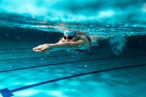 swim before wedding