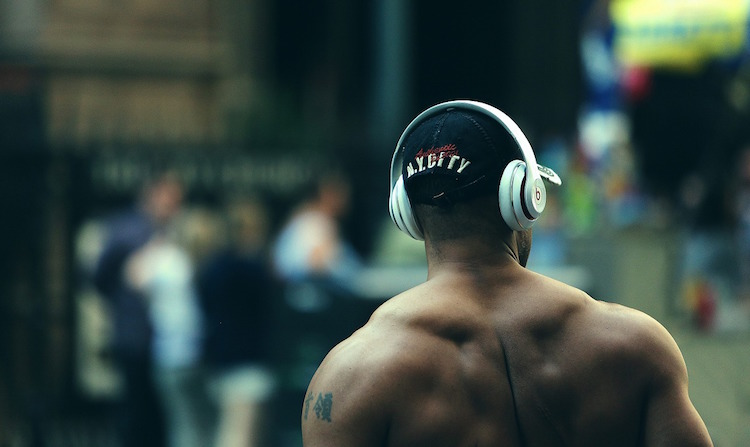 wireless gym headphones