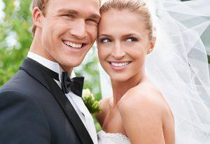 teeth whitening wedding